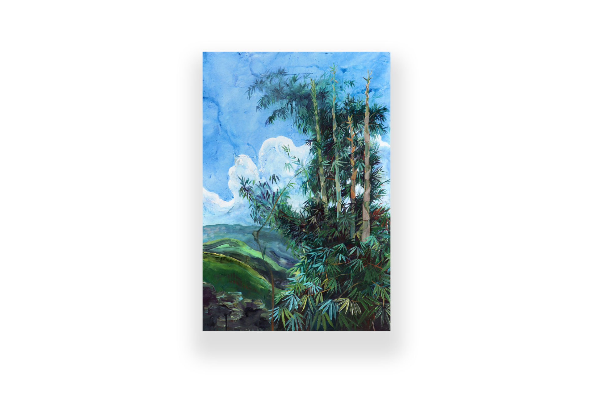 Saisiej   acrylic on canvas – akryl na plátne   150 x 100   2020