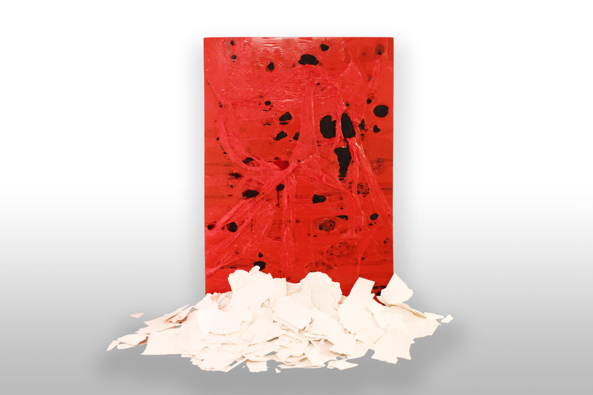 Bury Burri  |  rôzne médiá na plátne, polyuretán  |  200 x 124  |  2016