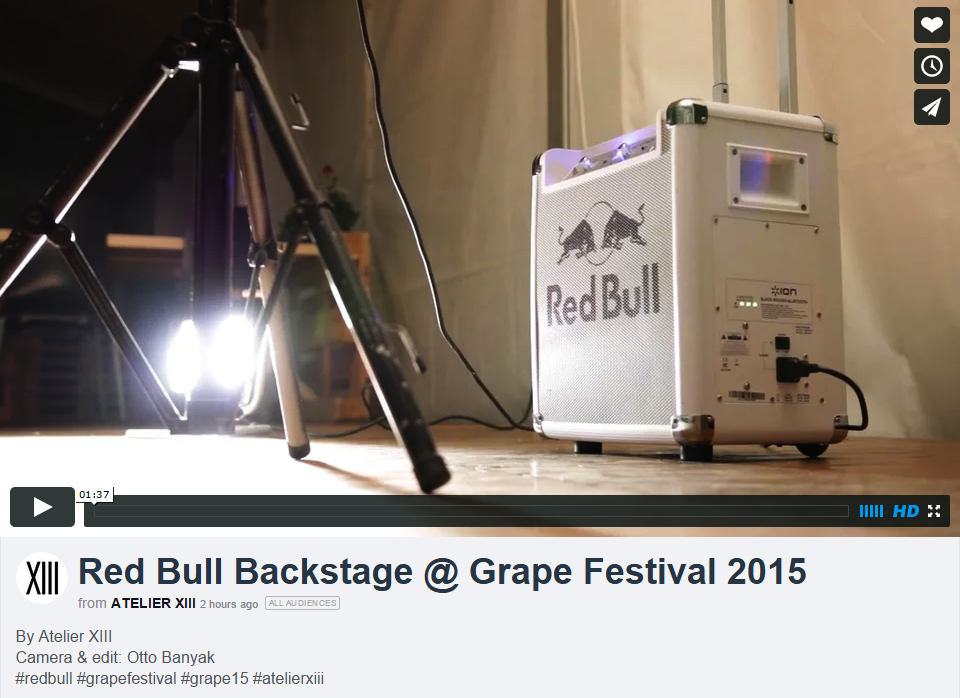Red Bull Backstage